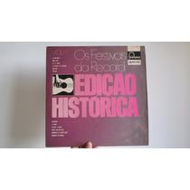Disco De Vinil Os Festivais Da Record - Edição Historica