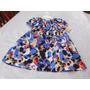 Vestido Infantil Tricoline Estampada Carters Original Tam 3