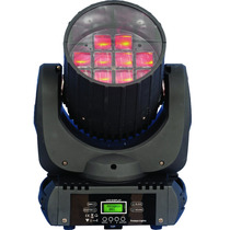 Moving Color Beam Effect 12x10w Rgbw Led Cree+nf+pronta Entr