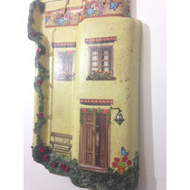 Telha Decorativa De Parede - Casa Decoupage Frete Incluso