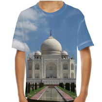 Camiseta Índia Taj Mahal Infantil