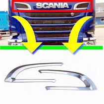Par Aplique Saida De Ar Caminhão Scania Serie G E R S5