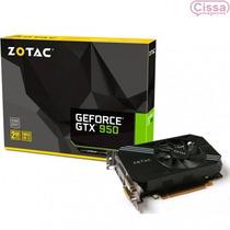 Placa De Vídeo Zotac Geforce Gtx 950 2gb Gddr5 128 Bits + Nf