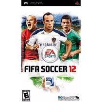 Jogo Psp: Fifa Soccer 2012 - Novo Lacrado