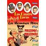 Los Cuatro Locos Los Hermanos Marx Dvd Novo