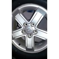 Rodas Kia Sportage Original Usada Com Pneus Usados