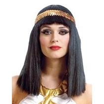 Peruca Cleopatra Adulto Egito