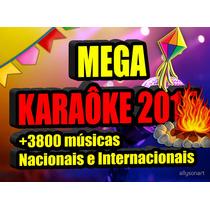 Kit Karaoke 2015 Cante 3800 Sucesso Nacionais Internacionais