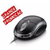 Promoção Mouse Optico Usb 2.0 Classic Box Notbook Pc Tablet