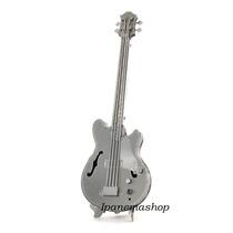 Mini Quebra Cabeça 3d De Metal - Instrumento Musical - Baixo