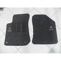Tapete C3 Citroen Com 5 Peças 2013/2014 Em Carpete