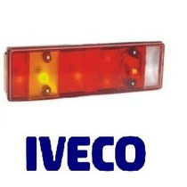Lente P/ Lanterna Traseira Caminhão Iveco Furgão Daily 97/..