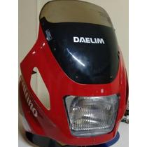 Carenagem Nova Completa Daelim Honda Cg 125 Original