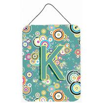 Letra K Do Círculo Teal Recados Alfabeto Inicial Ou A Suspe
