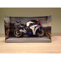 Miniatura Moto Honda Cbr1000rr Hrc Honda Racing Escala 1:12