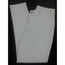 Calça Branca Feminina Com Elastano