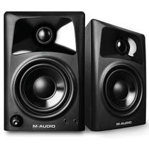 Monitores De Áudio P/ Desktop M-audio Av32 + Garantia 1 Ano