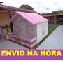 Projeto De Casinha De Boneca Rosa+ Brinde(projeto Parquinho)