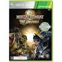 Jogo Xbox 360 Mortal Kombat Vs Dc Universe