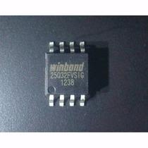 Chip Winbond 25q32fvsig Ci Eprom Flash Virgem 25q32 Env 6,00