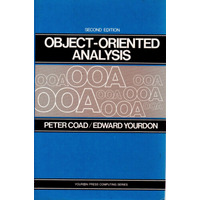 Object-oriented Analysis - Peter Coad / Edward Yourdon