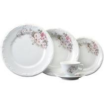 Jogo Jantar E Café 30 Peças Porcelana Schmidt Eterna