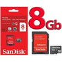 Cartão Cel Micro Sd Sandisk 8 Gb Menor Frete Ml