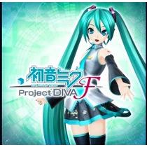 Hatsune Miku/ Project Diva F Midia Digital Psn Ps3
