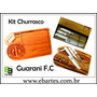 Kit Churrasco Tábua De Corte + Kit Mundial Faca Garfo Chaira