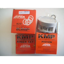 Pistao 0,75m Xlx / Nx 350 Sahara Kmp Com Aneis Kmp Kit Compl
