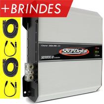 Modulo Soundigital Sd3000 Evolution (modelo Novo) 3400w 2ohm