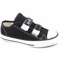 Tênis Converse All Star Infantil Velcro Ck206 E Ck683