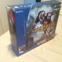 Playstation 4 Ps4,na Caixa God Of War Editon