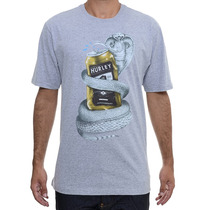 Camiseta Masculina Hurley Cobra Mark