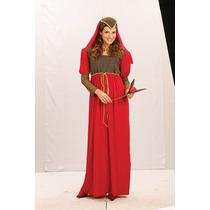 Juliet Traje - Senhoras Extravagante Vermelho Lindo Vestido