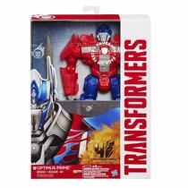 Boneco Transformers Optimus Prime 30 Cm Com Efeito Sonoro