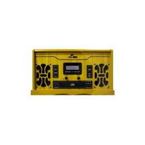 Vitrola Toca-discos Anos 80 Madeira Lp Radio Cd Mp3 Fita Usb