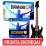 Guitar Hero Live Ps4 - Jogo + Guitarra Em Português!