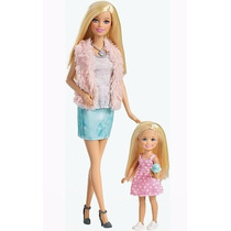 Bonecas Barbie E Chelsea Life In Dreamhouse 100% Original