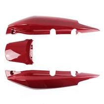 Rabeta Traseira Completa Fan125 2009-2010 Vermelha S/adesivo