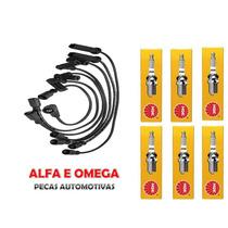 Kit Jogo Cabos + Velas Gm S10 / Blazer 4.3 V6 Vela Ngk