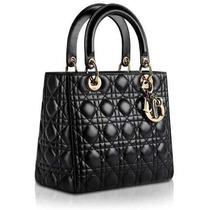 Bolsa Christian Dior Lady Di 24 Cm Original Frete Gratis