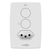 Tok Interruptor Touch Programável 2 Pad Com Tomada