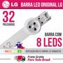 Barra Régua Led 32 Lg 6916l-1106a - Original Nova 8 Leds A2