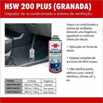 Hsw 200 Plus (granada) - 200ml Wurth Higienizador De Ar