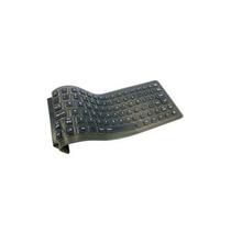 Mini Teclado Flexível Adesso Inc. Akb-210 85 Preto