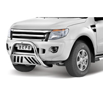 Parachoq Impulsão/quebra Mato Ford Ranger 2013/ Cromado Bepo