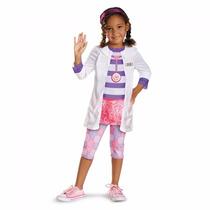 Fantasia Da Doutora Brinquedos Clássica - Tam P (3 A 4 Anos)