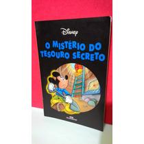 Livro Disney O Mistério Do Tesouro Secreto - Frete Grátis!!!