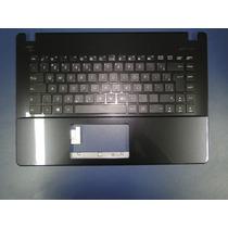 Teclado Ultrabook Asus X451ca/ma Moldura Mp-13k86pa-9203 Ç